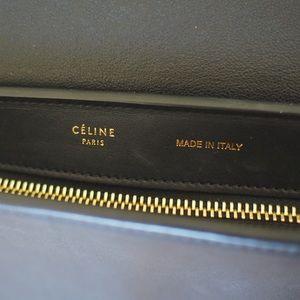 Celine Bags - Celine Trapeze Tri-color Medium Tote